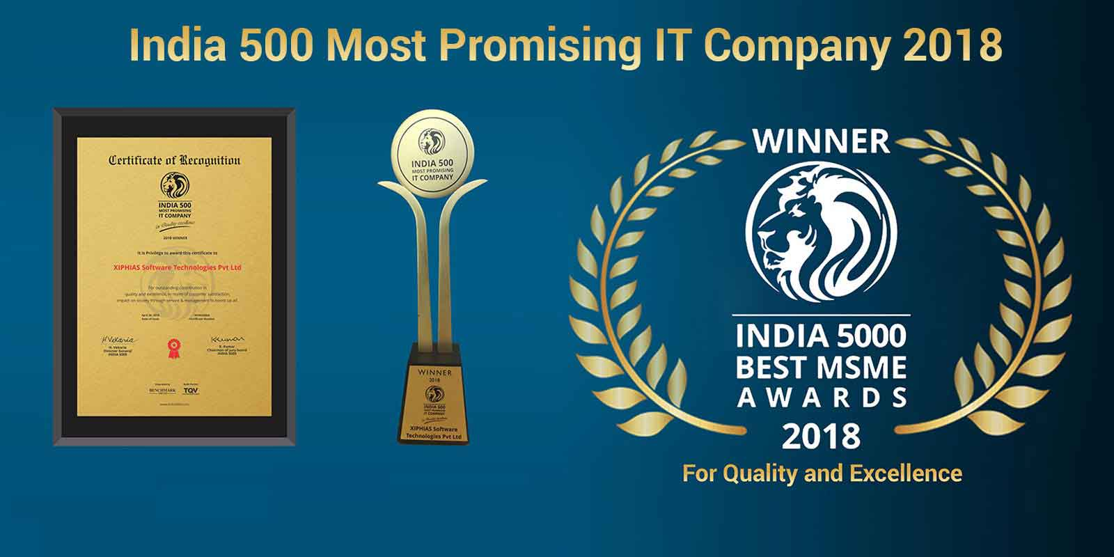 500 India most promising IT Company